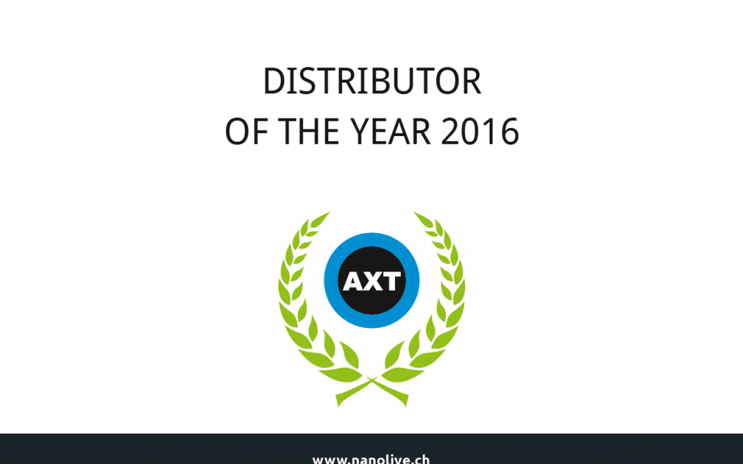 Nanolive is proud to announce its DISTRIBUTOR of the YEAR…