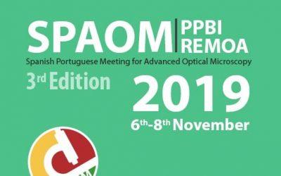 Nanolive attending SPAOM 2019: the Spanish & Portuguese Advanced Optical Microscopy from 6 – 8 November