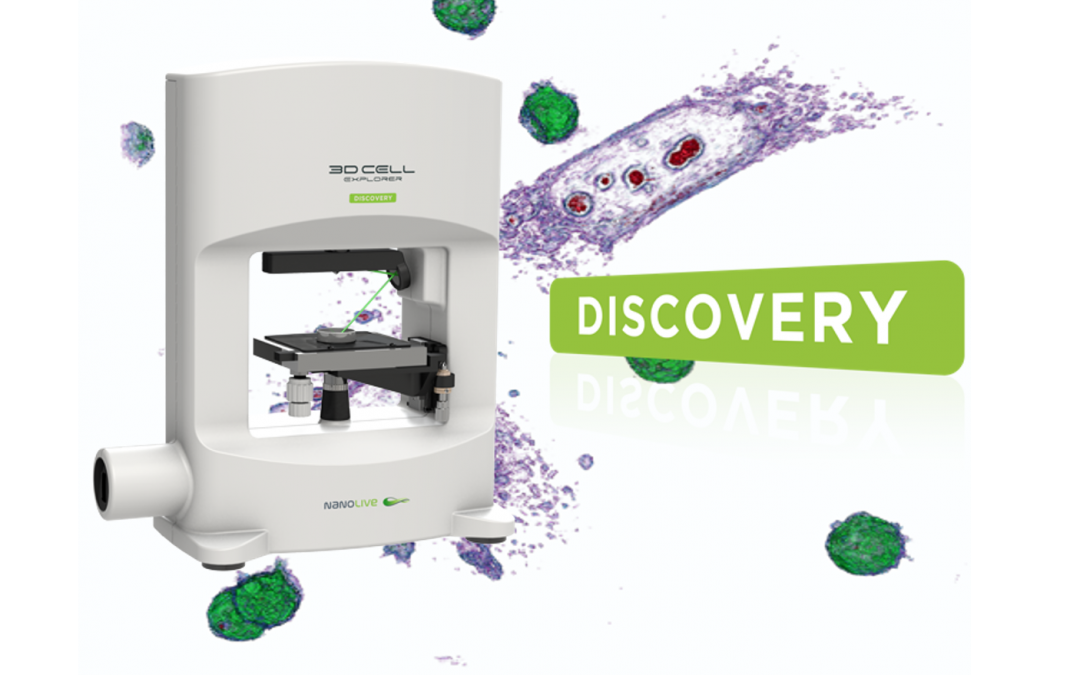 Nanolive launches the 3D Cell Explorer Discovery
