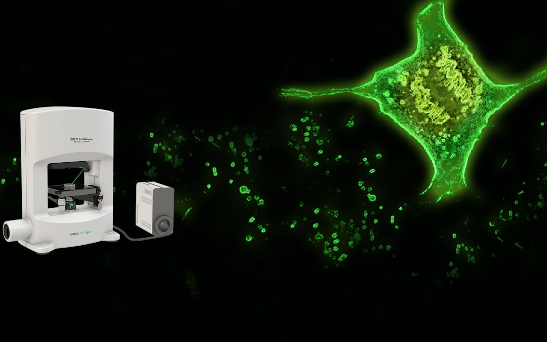 Nanolive launches the first holo-tomographic fluorescence microscope in the world.