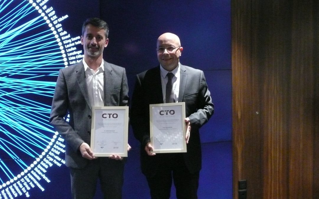 European Chief Technology Officer of the Year 2017 is …