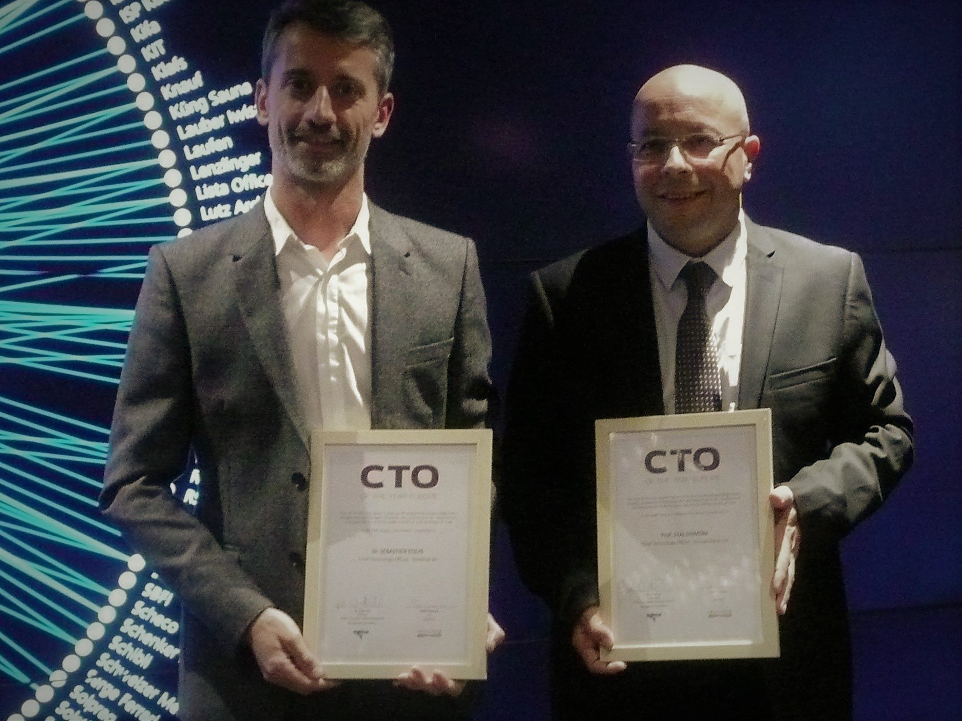 CTO of the year Sebastien Equis from Nanolive