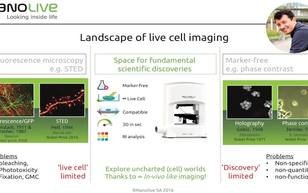 April 27th: Free webinar on Infinite 4D Live Cell Imaging