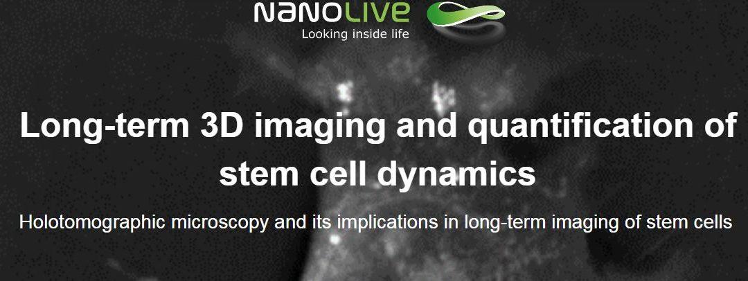 Webinar: Long-term 3D imaging and quantification of stem cell dynamics