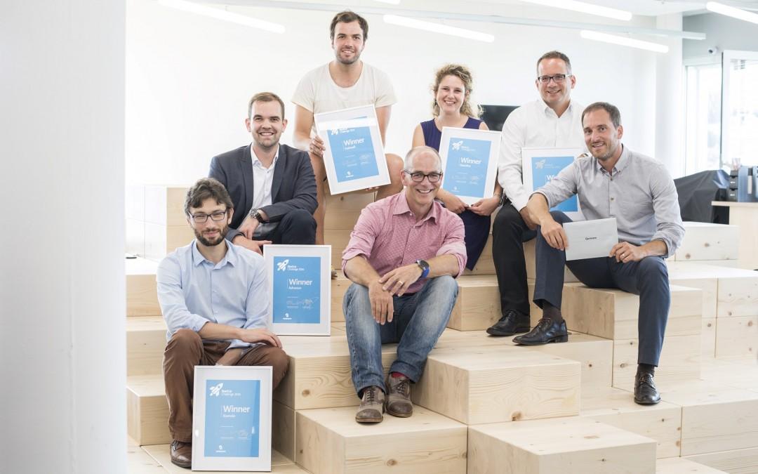 Nanolive wins the Swisscom start-up challenge !