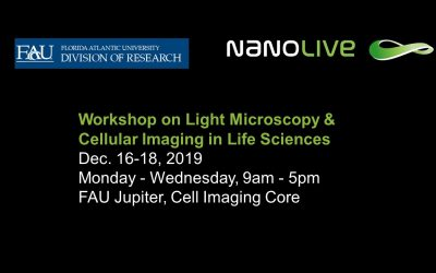 Workshop on Light Microscopy & Cellular Imaging in Life Sciences at Florida Atlantic University from 16-18 December
