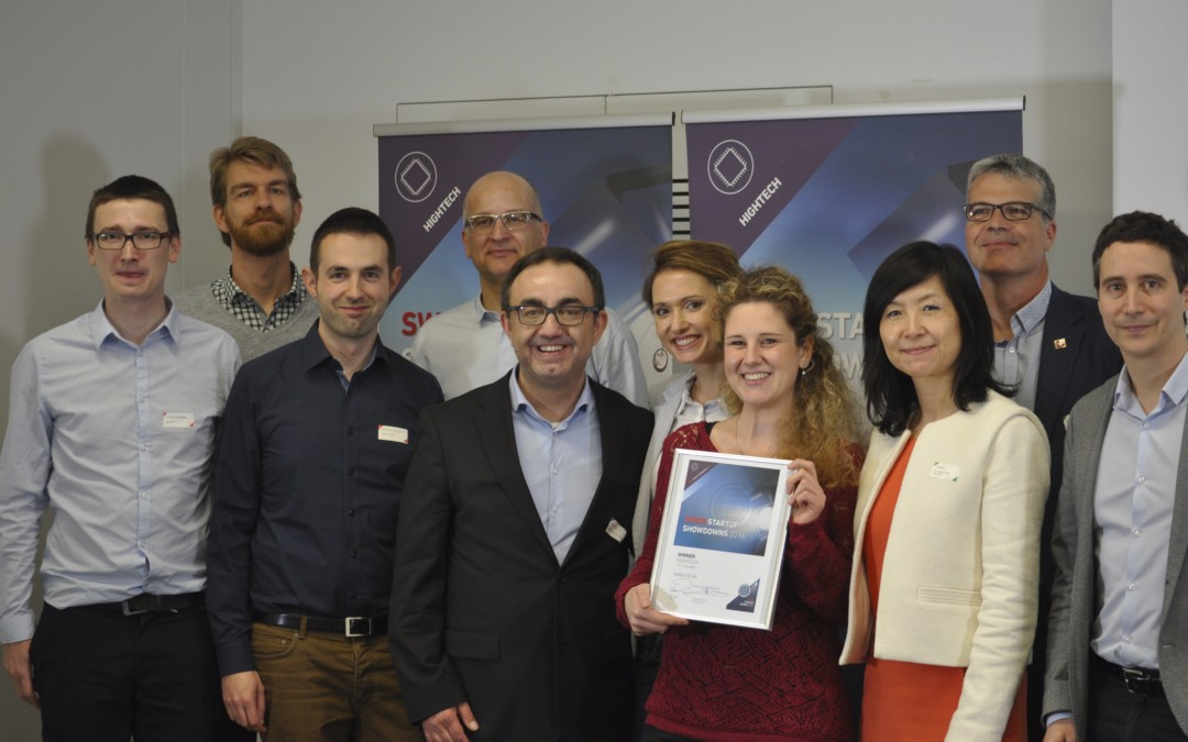 «Swiss Startup Awards» 2016: Nanolive wins the first «HighTech-Showdown» in Lausanne
