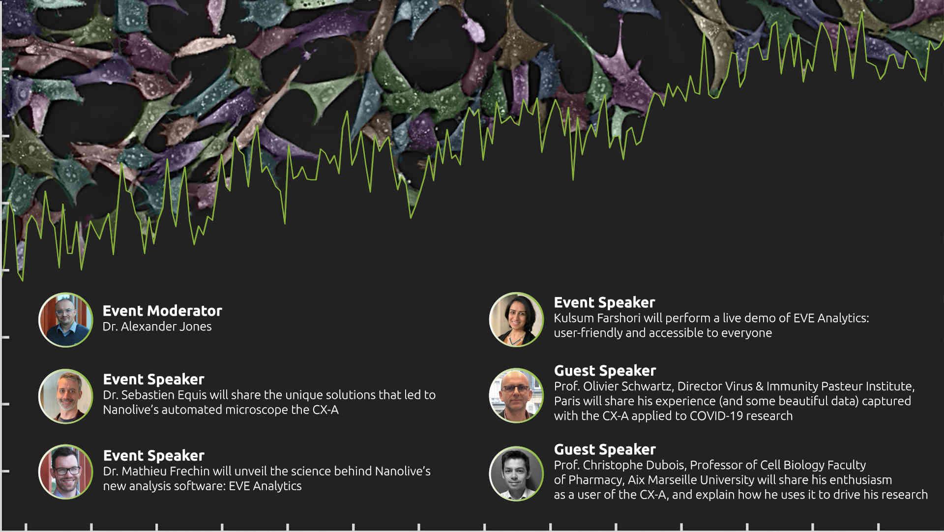 Speakers EVE Analytics Launch Event