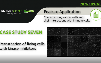 Perturbation of living cells with kinase inhibitors