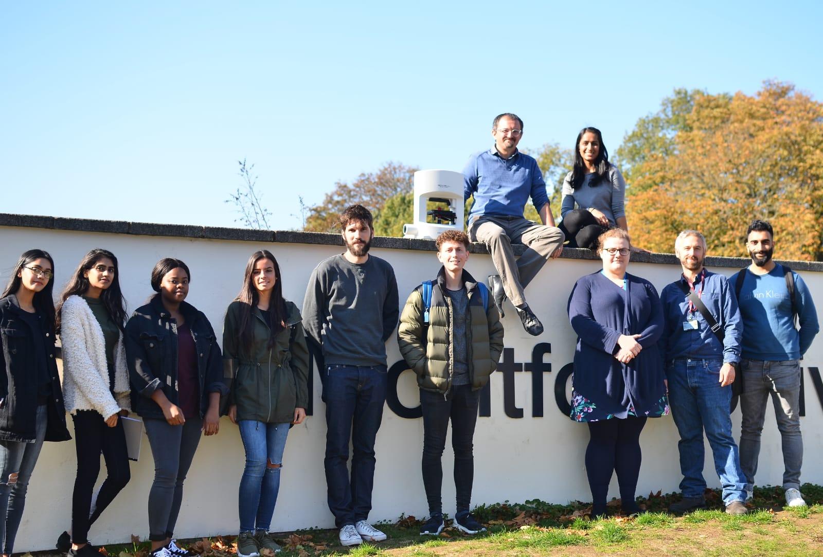 De Montfort University with the 3D Cell Explorer