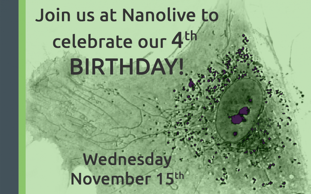 Nanolive turns 4!
