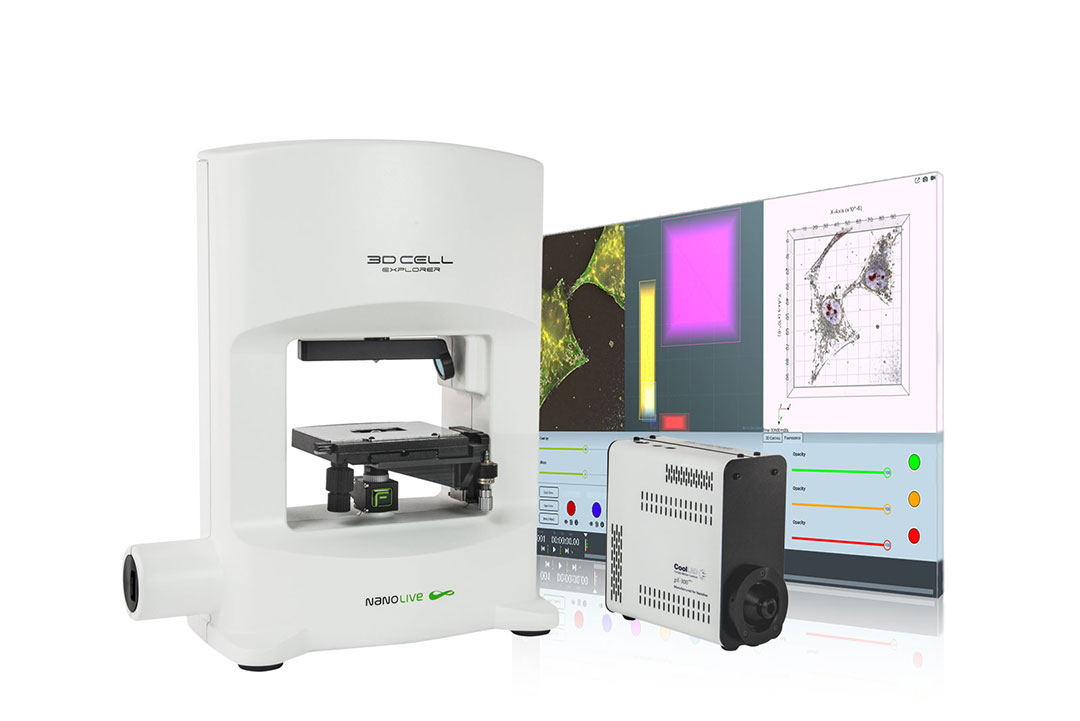 3D Cell Explorer-fluo - a label-free live cell imaging tool with fluorescence module